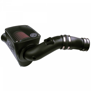 S&B   Cold Air Intake For 03-07 Ford F250 F350 F450 F550 V8-6.0L Powerstroke Cotton Cleanable Red   75-5070