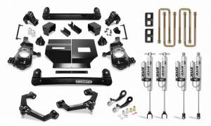 Steering And Suspension - Lift & Leveling Kits - Cognito Motorsports Truck - Cognito Motorsports Truck | 4 Inch Performance Lift Kit with Fox PS 2.0 for 2020 Silverado/Sierra 2500/3500 | 110-P0896