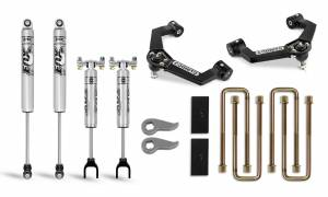 Steering And Suspension - Lift & Leveling Kits - Cognito Motorsports Truck - Cognito Motorsports Truck | 3-Inch Performance Leveling Lift Kit With Ball Joint Control Arms For 2020 Silverado/Sierra 2500/3500 | 110-P0883