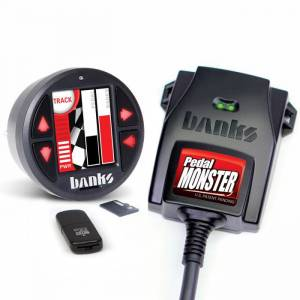2011-2016 Ford 6.7L Powerstroke - Programmers & Tuners - Banks Power - Banks Power | PedalMonster Kit TE Connectivity MT2 6 Way With iDash 1.8 DataMonster | 64333