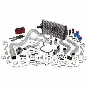 Banks Power | PowerPack Bundle Complete Power System W/OttoMind Engine Calibration Module Chrome Tip 95.5-97 Ford 7.3L Manual Transmission | 48562