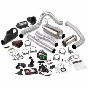 2003-2007 Ford 6.0L Powerstroke - Programmers & Tuners - Banks Power - Banks Power   Stinger Bundle Power System W/Single Exit Exhaust Chrome Tip 5 Inch Screen 03-06 Ford 6.0L Excursion   46486