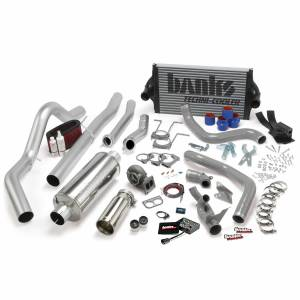 Banks Power | PowerPack Bundle Complete Power System W/OttoMind Engine Calibration Module Chrome Tail Pipe 94-97 Ford 7.3L CCLB Automatic Transmission | 46356