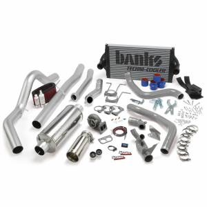 Banks Power | PowerPack Bundle Complete Power System W/OttoMind Engine Calibration Module Chrome Tail Pipe 94-97 Ford 7.3L CCLB Manual Transmission | 46361