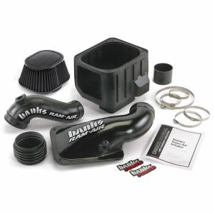 Banks Power   Ram-Air Cold-Air Intake System Dry Filter 01-04 Chevy/GMC 6.6L LB7   42132-D