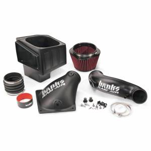 Air Intakes & Accessories - Air Intakes - Banks Power - Banks Power | Ram-Air Cold-Air Intake System Oiled Filter 07-09 Dodge 6.7L | 42175