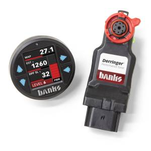 2017+ GM 6.6L L5P Duramax - Programmers & Tuners - Banks Power - Banks Power   Derringer Tuner (Gen2) with ActiveSafety and iDash 1.8 Super Gauge 2017-19 Chevy/GMC 2500 6.6L L5P   66692