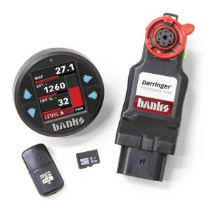 2017+ Ford 6.7L Powerstroke - Programmers & Tuners - Banks Power - Banks Power | Derringer Tuner with iDash 1.8 DataMonster with ActiveSafety 17-19 Ford 6.7 | 66795
