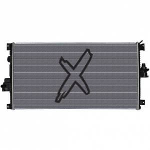 XDP Xtreme Diesel Performance   Replacement Secondary Radiator 11-16 Ford 6.7L Powerstroke Secondary Radiator Direct-Fit X-TRA Cool XD299   XD299