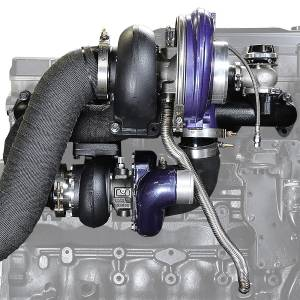 Turbo Chargers & Components - Turbo Charger Kits - ATS Diesel Performance - ATS Diesel Performance | Aurora 3000/5000 Twin Turbo Kit Dodge 1994-1998 12V | 202A352164