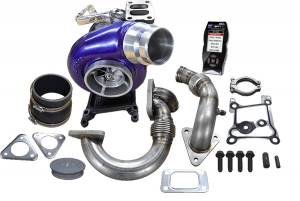 Turbo Chargers & Components - Turbo Charger Kits - ATS Diesel Performance - ATS Diesel Performance | Aurora 3000 Turbo System W/ Tuner And Custom Tunes 2011-2014 Ford 6.7L Scorpion | 2029313368