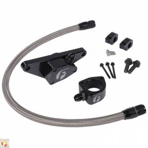 Shop by Part - Cooling System - Fleece Performance - Fleece Performance | Cummins Coolant Bypass Kit 7.5-18 6.7L with Stainless Steel Braided Line | FPE-CLNTBYPS-CUMMINS-6.7-SS
