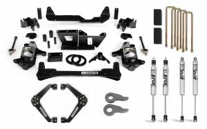 Steering And Suspension - Lift & Leveling Kits - Cognito Motorsports Truck - Cognito Motorsports Truck | 6-Inch Standard Lift Kit with Fox PS 2.0 IFP for 01-10 Silverado/Sierra 2500/3500 2WD/4WD | 110-P0970