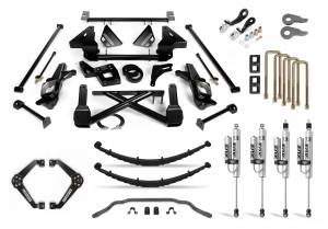 Steering And Suspension - Lift & Leveling Kits - Cognito Motorsports Truck - Cognito Motorsports Truck | 12-Inch Performance Lift Kit with Fox PSRR 2.0 for 01-10 Silverado/Sierra 2500/3500 2WD/4WD | 110-P0999