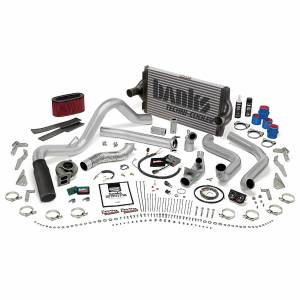 Banks Power | PowerPack Bundle Complete Power System W/OttoMind Engine Calibration Module Black Tip 95.5-97 Ford 7.3L Automatic Transmission | 48561-B