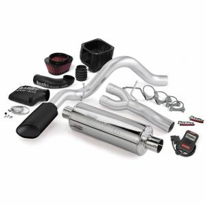1982-2000 GM 6.2L & 6.5L Non-Duramax - Programmers & Tuners - Banks Power - Banks Power   Stinger Bundle Power System W/Single Exit Exhaust Black Tip 99-06 Chevy 4.8-5.3L SCSB   48032-B