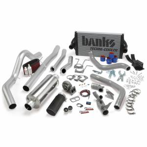 Banks Power | PowerPack Bundle Complete Power System W/OttoMind Engine Calibration Module Black Tail Pipe 94-97 Ford 7.3L CCLB Manual Transmission | 46361-B