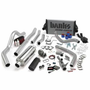 Banks Power | PowerPack Bundle Complete Power System W/OttoMind Engine Calibration Module Black Tail Pipe 94-97 Ford 7.3L CCLB Automatic Transmission | 46356-B