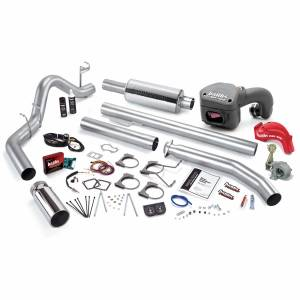 Banks Power | PowerPack Bundle Complete Power System W/Single Exit Exhaust Chrome Tip 98.5-00 Dodge 5.9L Extended Cab | 49391