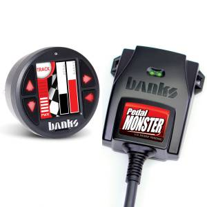 2011-2016 Ford 6.7L Powerstroke - Programmers & Tuners - Banks Power - Banks Power | PedalMonster Kit Aptiv GT 150 6 Way With iDash 1.8 | 64322