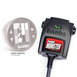 2011-2016 Ford 6.7L Powerstroke - Programmers & Tuners - Banks Power - Banks Power | PedalMonster Kit Aptiv GT 150 6 Way Stand Alone For Use With iDash 1.8 | 64321