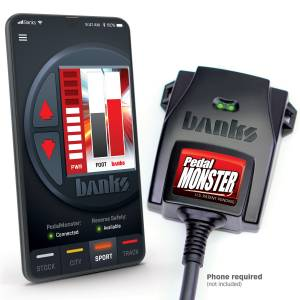 2011-2016 Ford 6.7L Powerstroke - Programmers & Tuners - Banks Power - Banks Power | PedalMonster Kit Aptiv GT 150 6 Way Stand Alone For Use With Phone | 64320