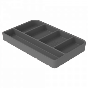 Interior - Interior Accessories - S&B - S&B | Tool Tray Silicone Small Color Charcoal | 80-1004S