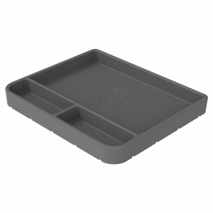 S&B | Tool Tray Silicone Medium Color Charcoal | 80-1004M