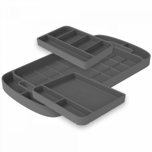 S&B | Tool Tray Silicone 3 Piece Set Color Charcoal | 80-1004