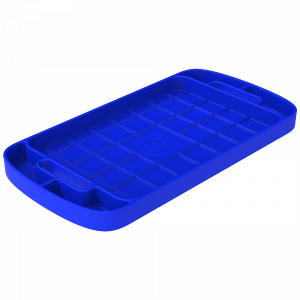 Interior - Interior Accessories - S&B - S&B | Tool Tray Silicone Large Color Blue | 80-1002L