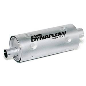 Banks Power | Stainless Steel Exhaust Muffler 3 Inch Inlet X 3.5 Inch Outlet W/Heatshield | 52405