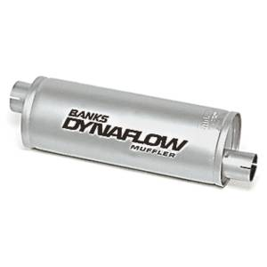 Banks Power | Stainless Steel Exhaust Muffler 3 Inch Inlet X 3.5 Inch Outlet Various Applications | 52407