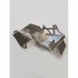 No Limit Fabrication   Factory Replacement Aluminum Coolant Tank Polished 6.7 Power Stroke   67FRCTP