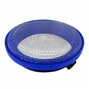 Gas Vehicles - Ram - S&B - S&B | Turbo Screen 5.0 Inch Blue Stainless Steel Mesh W/Stainless Steel Clamp | 77-3010