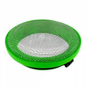 Gas Vehicles - Ram - S&B - S&B | Turbo Screen 4.0 Inch Lime Green Stainless Steel Mesh W/Stainless Steel Clamp | 77-3006