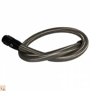 Shop by Part - Cooling System - Fleece Performance - Fleece Performance | 39.50 Inch 12 Valve Cummins Coolant Bypass Hose Stainless Steel Braided | FPE-CLNTBYPS-HS-12V-SS