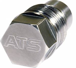 Shop by Part - Axles & Components - ATS Diesel Performance - ATS Diesel Performance | Drain Plug 1-Inch Dia 3/8 Hex Stainless Steel W/ Magnet | 4020091000