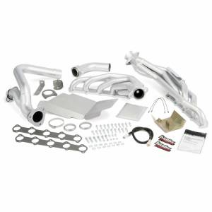 Exhaust - Exhaust Manifolds - Banks Power - Banks Power | Torque Tube Exhaust Header System Ford 6.8L V-10 Truck W/EGR Early Catalytic Converter | 49136
