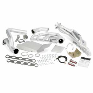 Exhaust - Exhaust Manifolds - Banks Power - Banks Power | Torque Tube Exhaust Header System Ford 6.8L V-10 Truck W/EGR Late Catalytic Converter | 49133