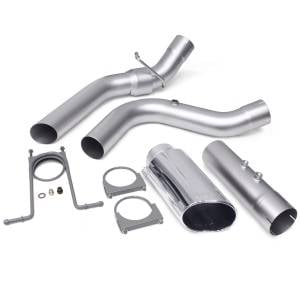 Exhaust - Exhaust Systems - Banks Power - Banks Power | Monster Exhaust System 4-inch Single Exit Chrome Tip 17-18 Chevy 6.6L L5P from | 48947
