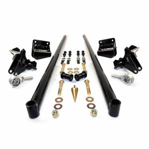 Steering And Suspension - Suspension Parts - HSP Diesel - HSP Diesel   2011-2016 Chevrolet / GMC 70 Inch Bolt On Traction Bars 4 Inch Axle Diameter Gloss Black   535-2-HSP-GB