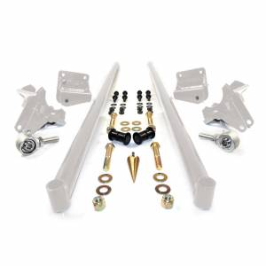Steering And Suspension - Suspension Parts - HSP Diesel - HSP Diesel | 2001-2010 Chevrolet / GMC 75 Inch Bolt On Traction Bars 3.5 Inch Axle Diameter White | 035-3-HSP-W