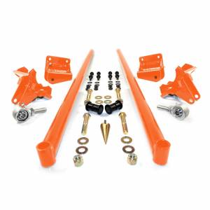 Steering And Suspension - Suspension Parts - HSP Diesel - HSP Diesel | 2001-2010 Chevrolet / GMC 75 Inch Bolt On Traction Bars 3.5 Inch Axle Diameter Orange | 035-3-HSP-O
