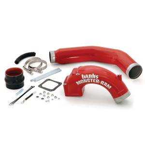 Engine Parts - Parts & Accessories - Banks Power - Banks Power | Monster-Ram Intake Elbow W/Boost Tube 03-07 Dodge 5.9L | 42766