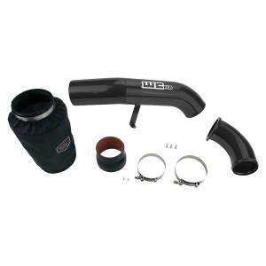 Wehrli Custom Fab - Wehrli Custom Fab | 2001-2004 LB7 Duramax 4 Inch Intake Kit Stage 2 Silver Artery Two Stage Powder Coating | WCF100636-SA - Image 1