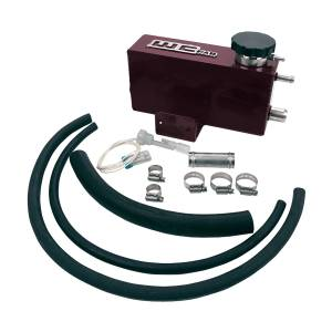 Wehrli Custom Fab - Wehrli Custom Fab | 2001-2006 LB7/LLY/LBZ Duramax Twin Turbo Style Coolant Tank Kit Sparkle Burgundy Two Stage Powder Coating | WCF100642-SB - Image 1