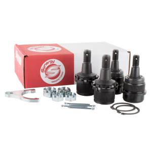 Steering And Suspension - Suspension Parts - Synergy MFG - Synergy MFG | Dodge Ram 03-13 HD Knurled Adjustable Ball Joint Kit 1500/2500/3500 4X4 Synergy MFG | 4123KN