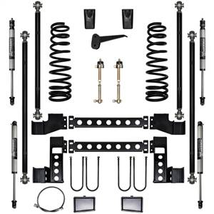 Pure Performance Suspension | 6.0 Inch X Factor Long Arm Suspension System Stage 1 03-09 Ram 2500, 3500 HD 4x4 Front/Rear | R2XF6003-S1
