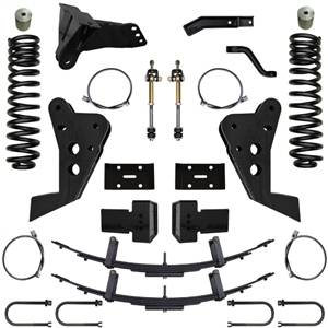 Steering And Suspension - Lift & Leveling Kits - Pure Performance Suspension - Pure Performance Suspension   6.0 Inch Triple Threat Suspension System 11-16 F250, F350 4x4 Front/Rear   F2TT6004
