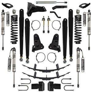 Steering And Suspension - Lift & Leveling Kits - Pure Performance Suspension - Pure Performance Suspension   6.0 Inch Triple Threat Plus Suspension System Stage 4 17-Pres F250, F350 4x4 Front/Rear   F2TTP6005-S4